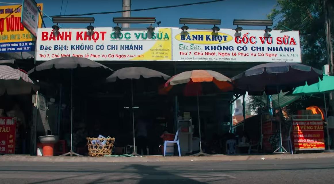 Vietnamese mini pancakes