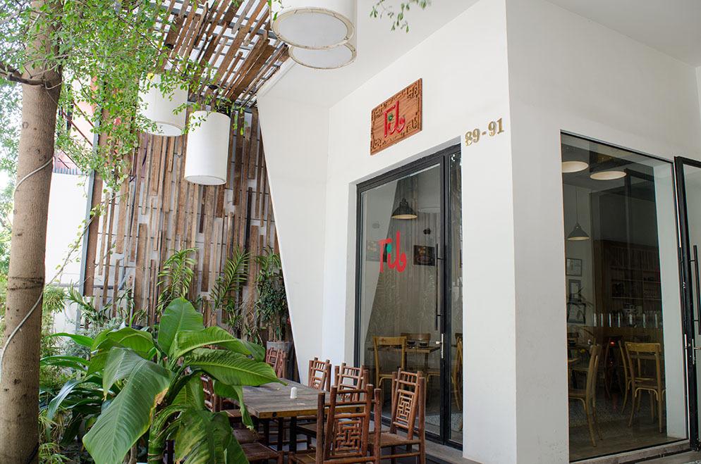 Vegetarian restaurant in Saigon