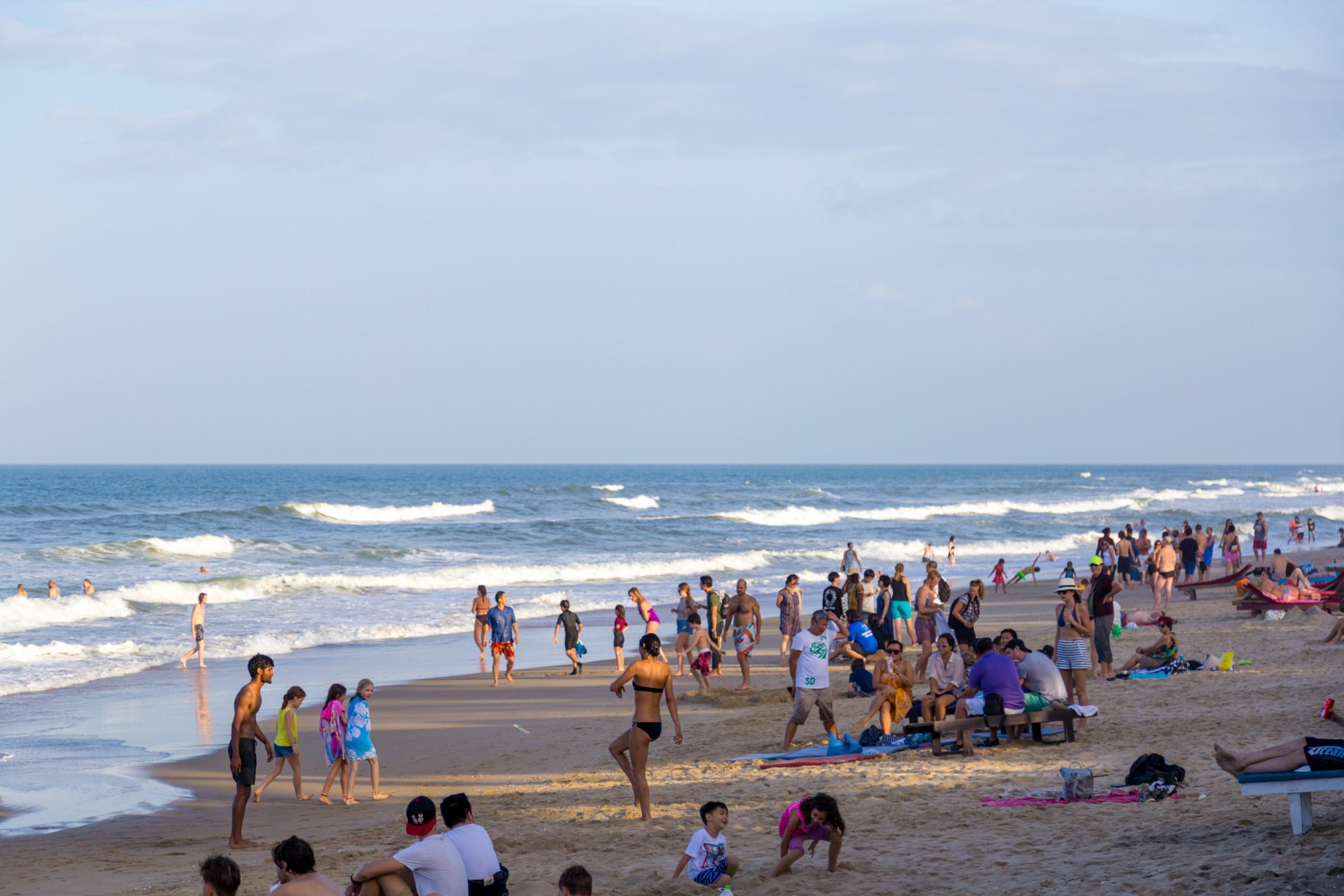 An Bang Beach In Hoi