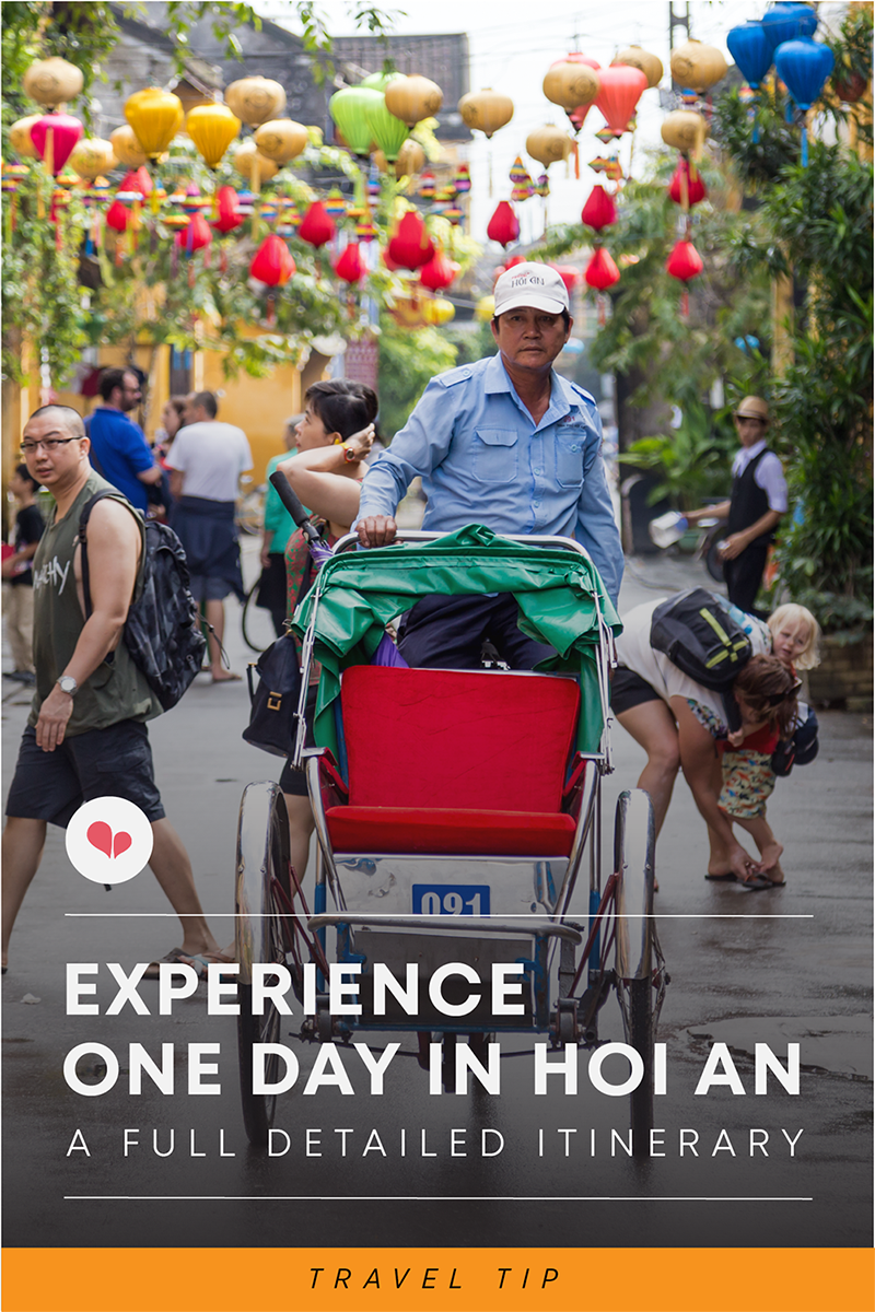 What to do One day in Hoi An