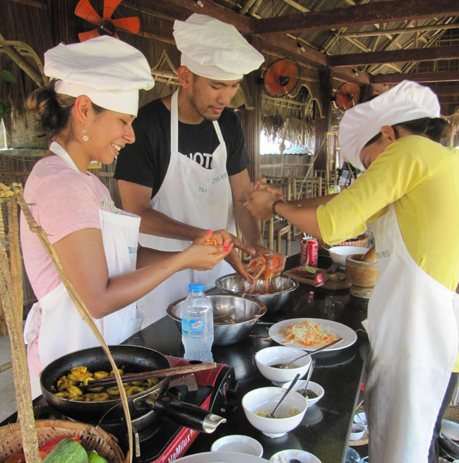 Tra Que Water Wheel cooking class