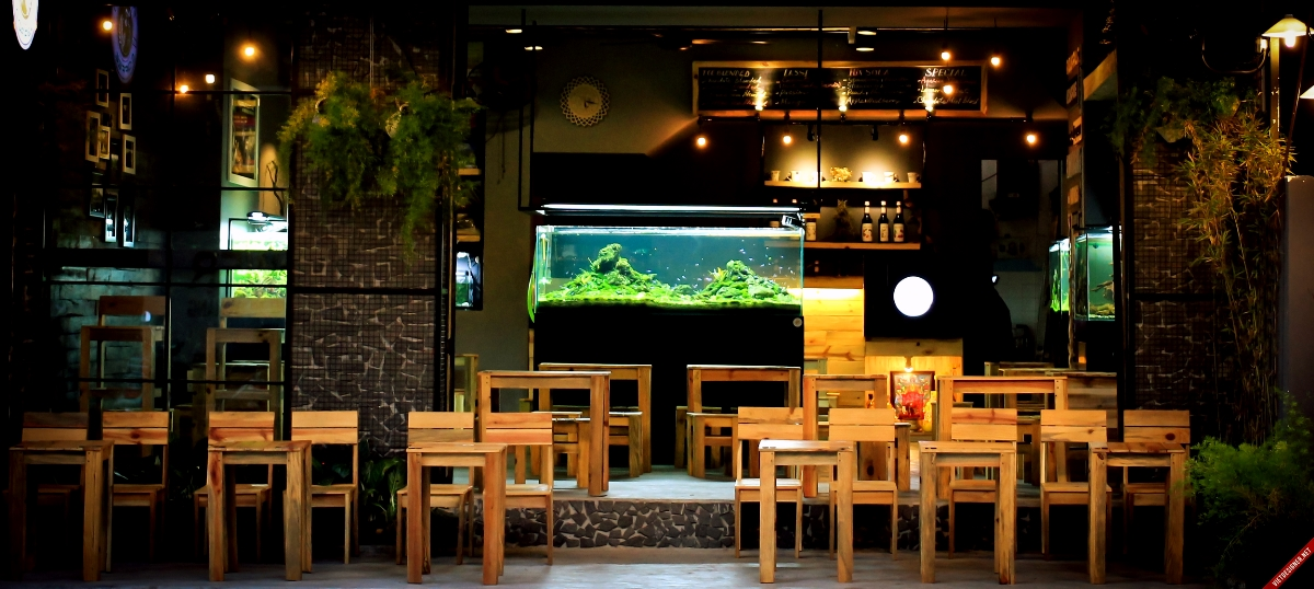 Aquarium Cafe - best cafe Da Nang