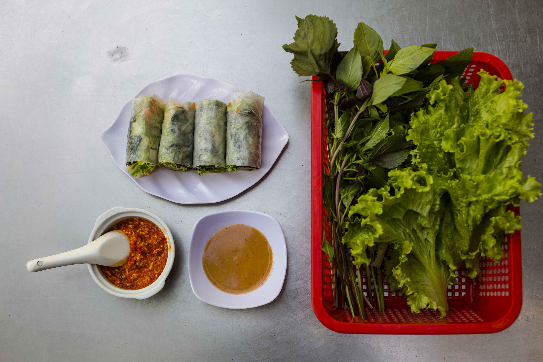 Vietnamese Spring Rolls goi cuon