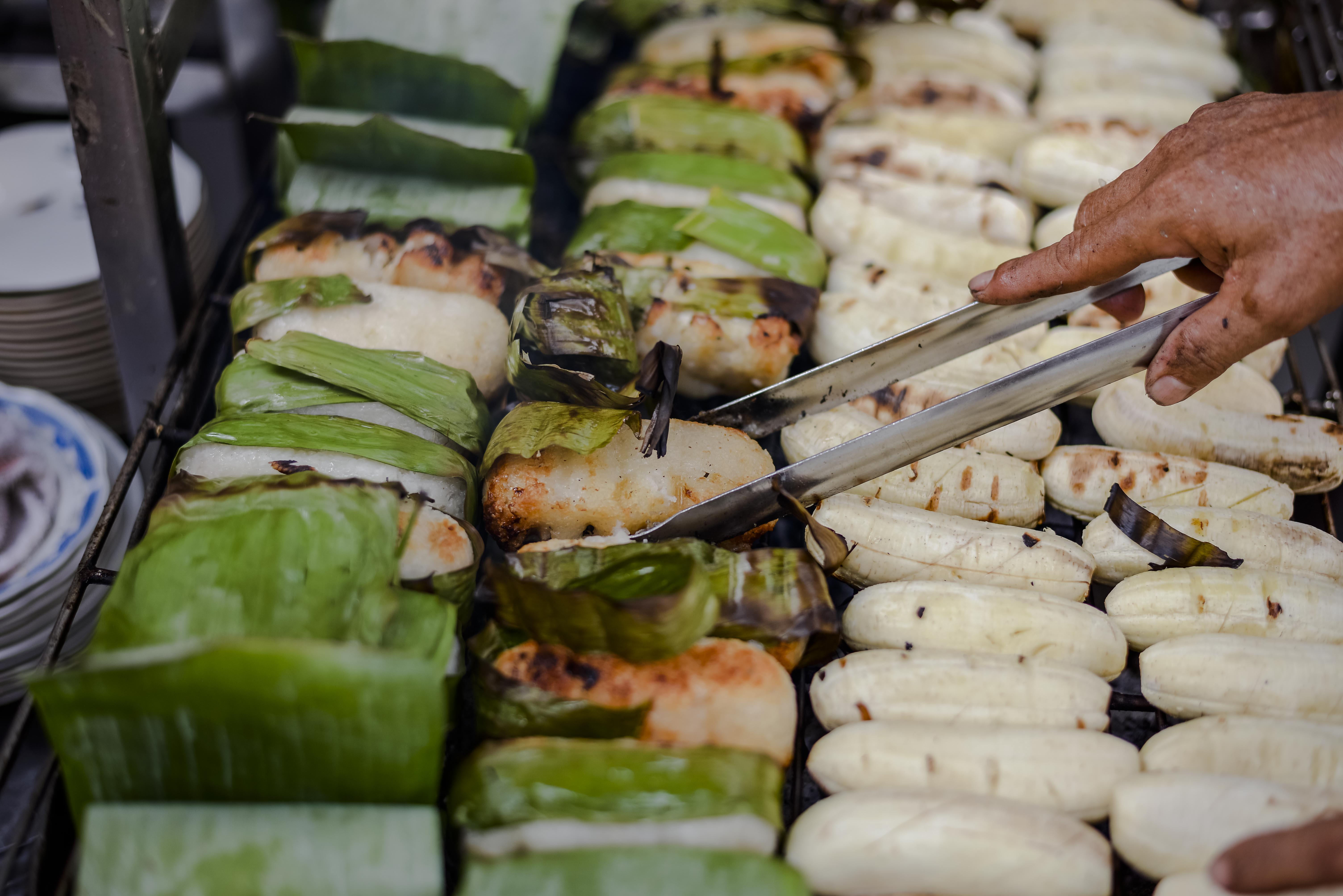 Grilled bananas - saigon specialty