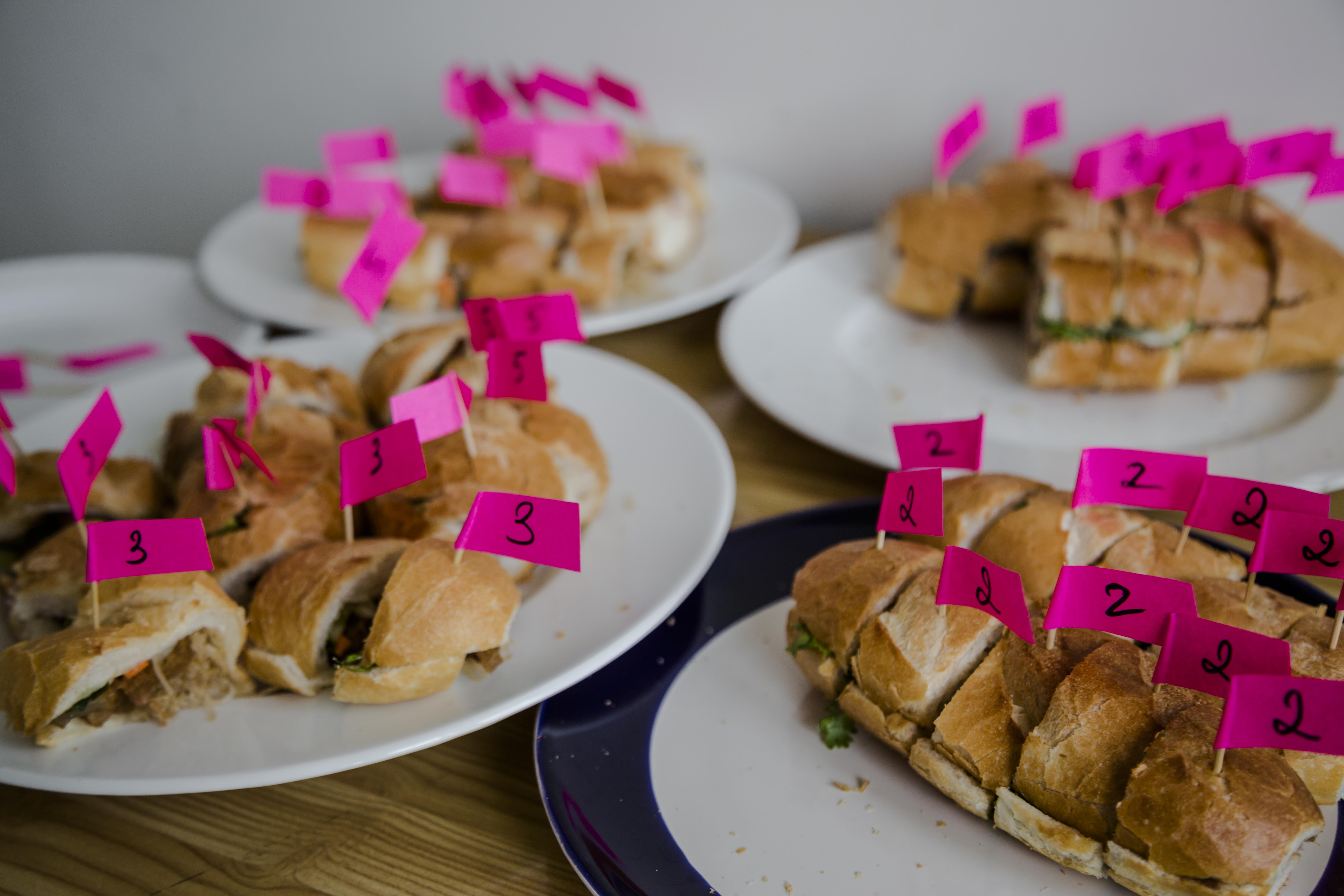 Banh Mi Blind Taste Test at Christina's Headquarters - The Christina's Blog