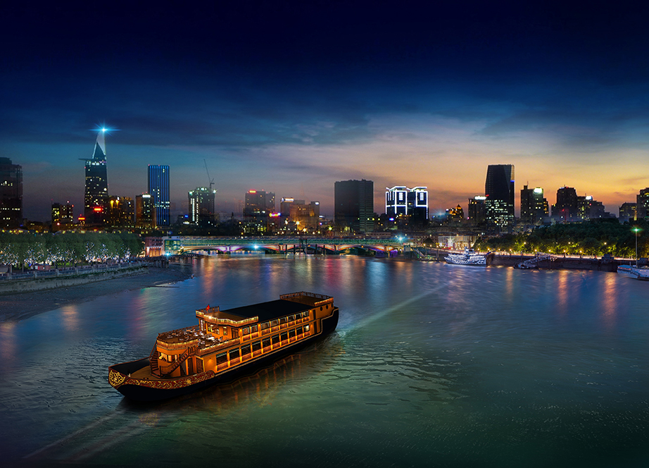 The Return of Bonsai Dinner Cruise on the Saigon River - The Christina's Blog