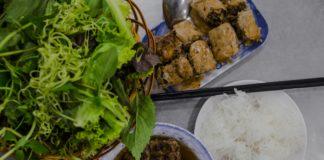 Kebab rice noodle