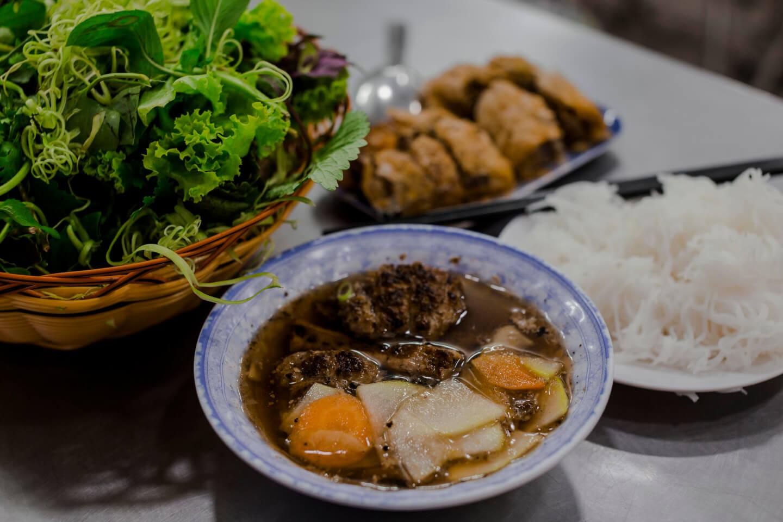 where to eat bun cha hanoi