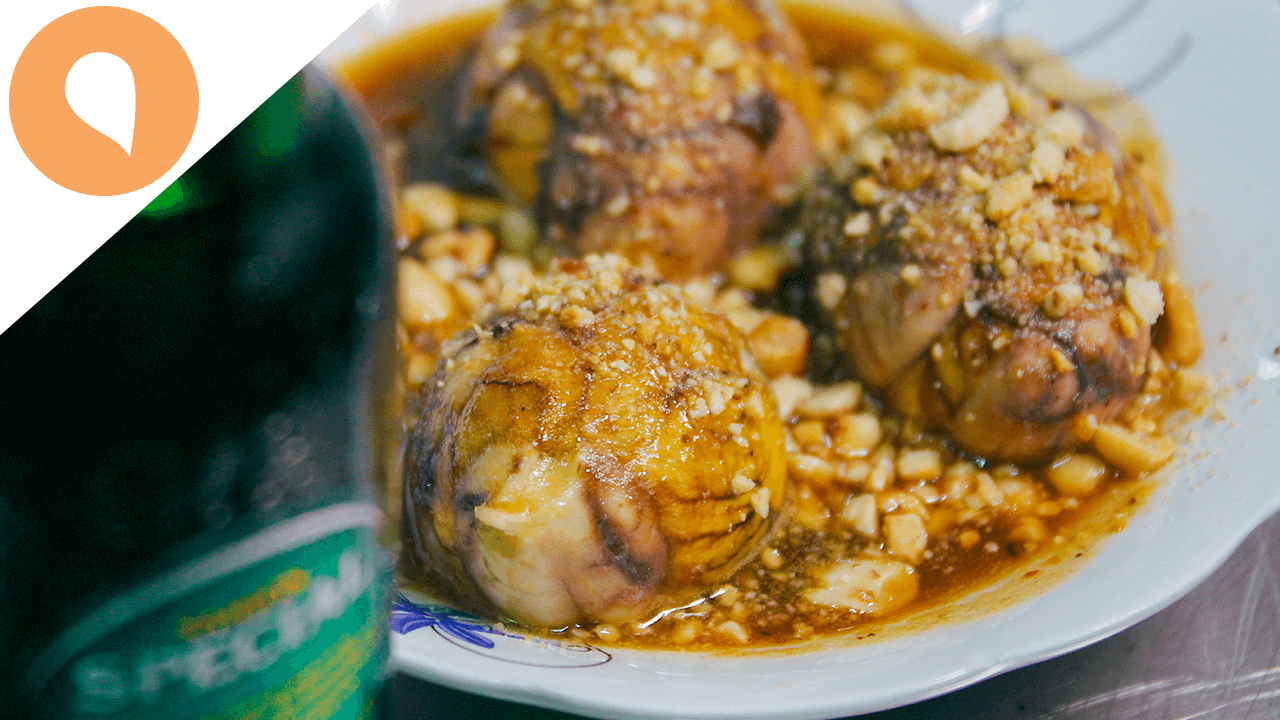 Eating Fetal Duck Egg in Saigon (Balut) - The Christina's Blog