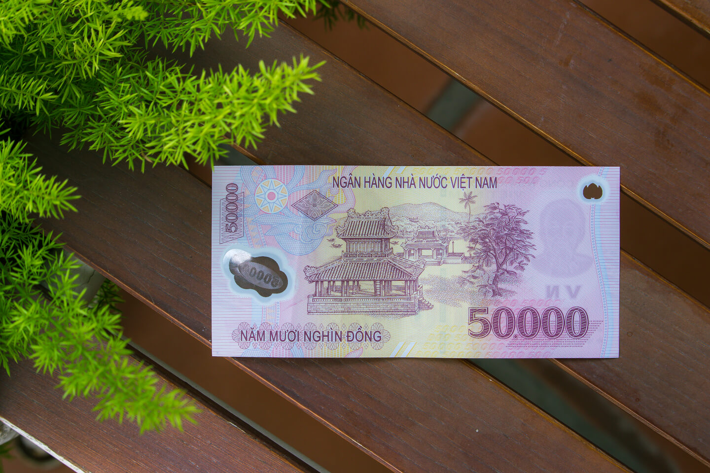 The 100 000 Vnd 000d Note Is In Green It Can Be Used To Pay For A Bed Dorm Backpacker Area Which Normally Cost Around 80