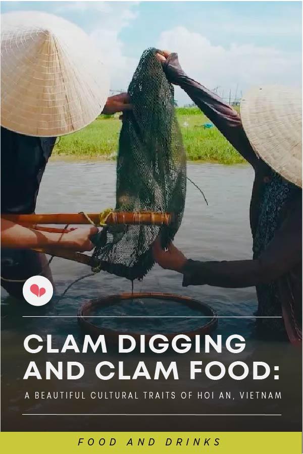 Clam digging clam food