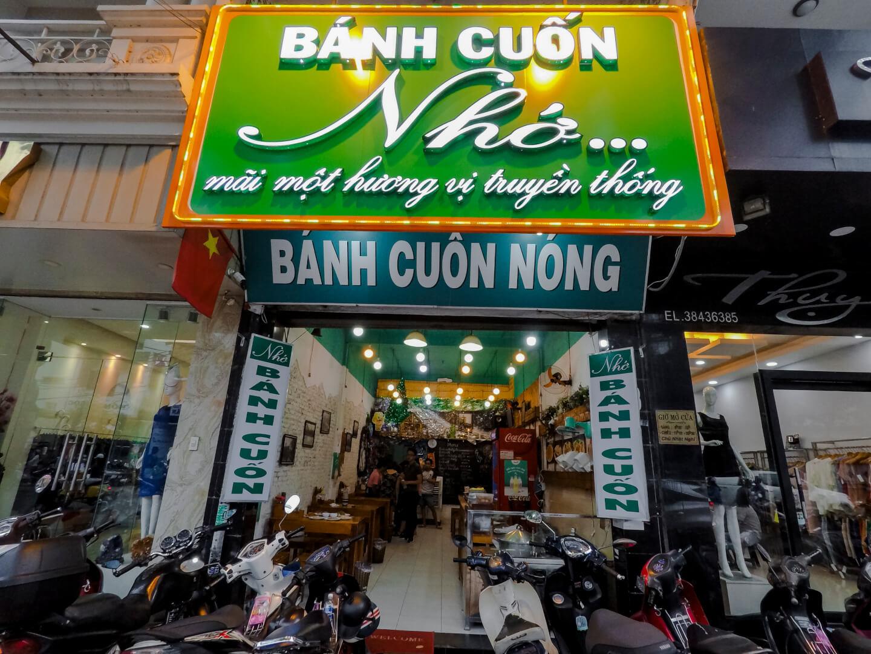 where to find Banh cuon in saigon