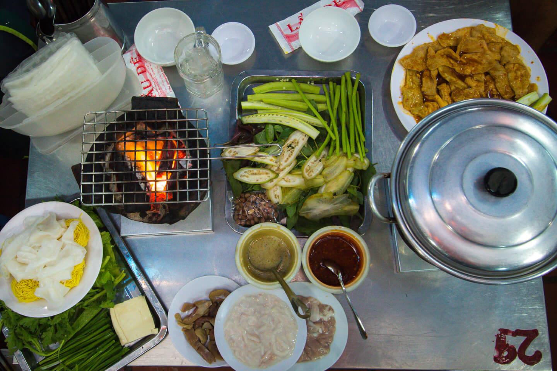 vietnamese goat hot pot lau de