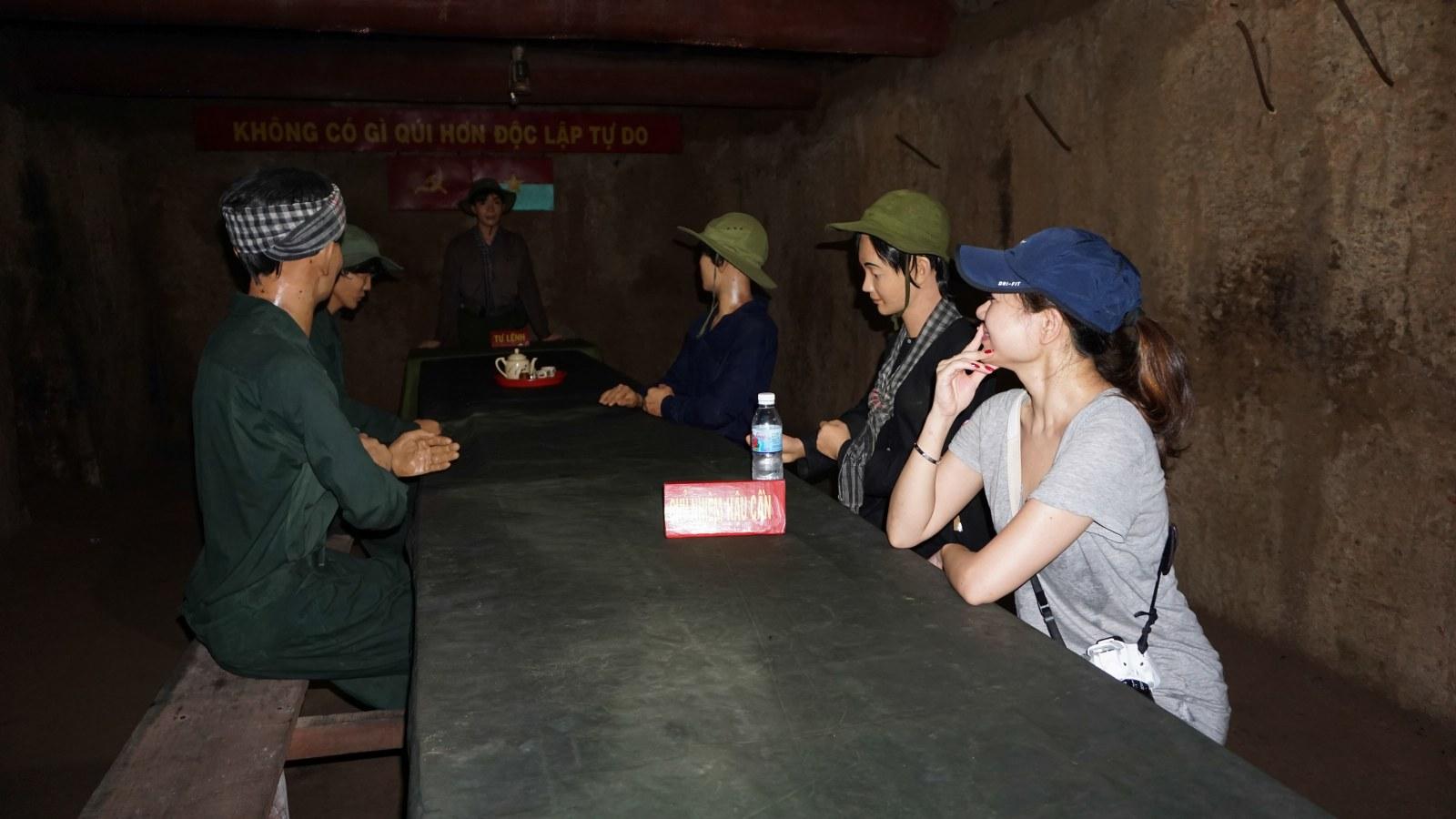 cu chi tunnels history