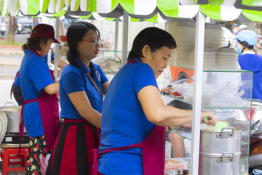 Street food in saigon