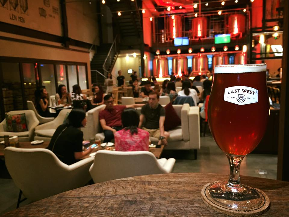 Craft beer in Saigon - East West Brewing Company