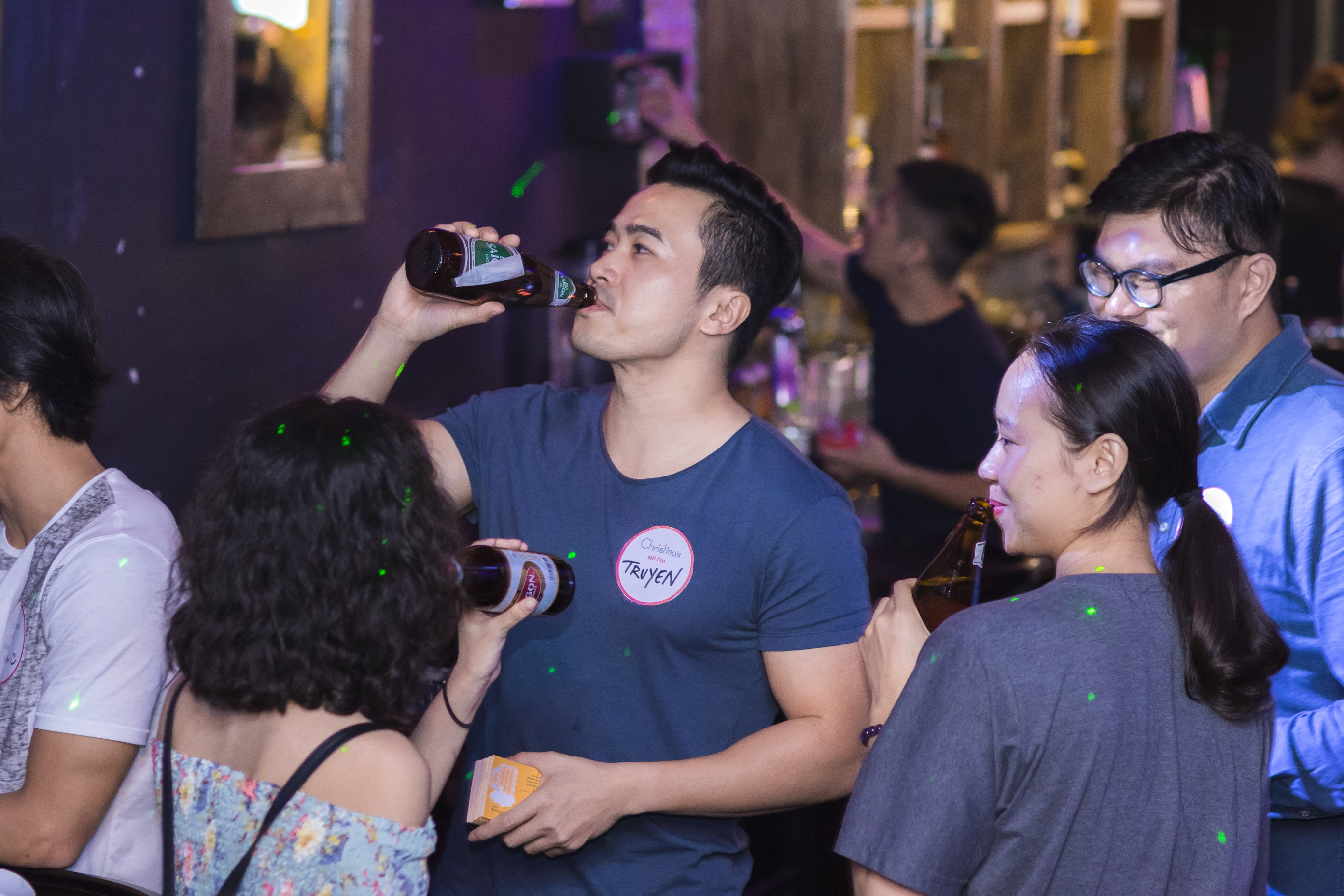 Drinking in Saigon, Vietnam - Nightlife & Craft Beers - The Christina's Blog