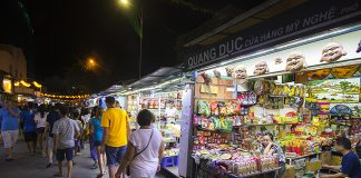 Night market in Nha Trang