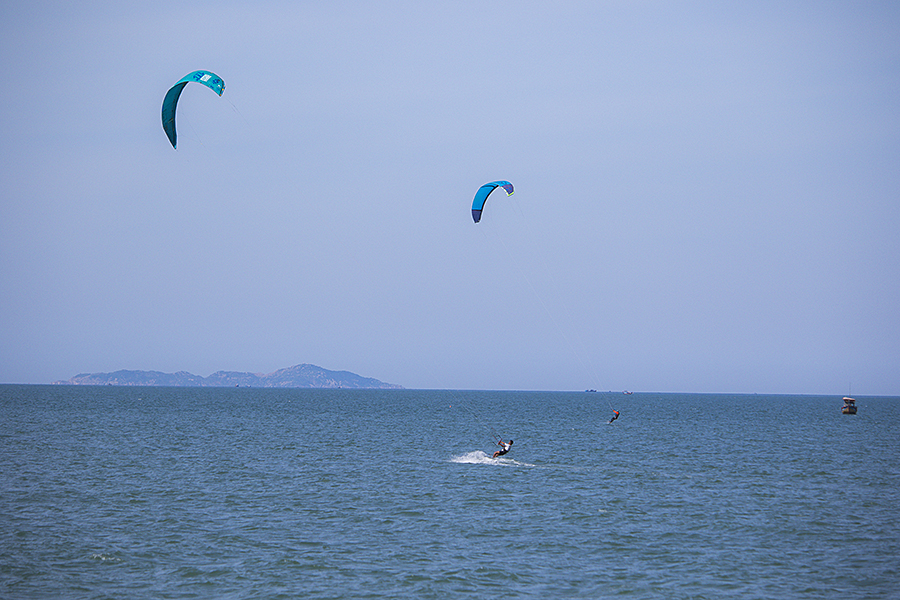 Surfing in Nha Trang