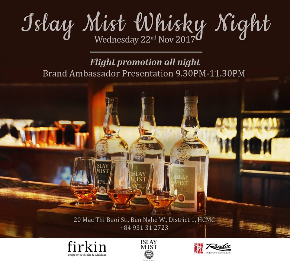 firkin islay whisky best mixology bar ho chi minh hcmc saigon