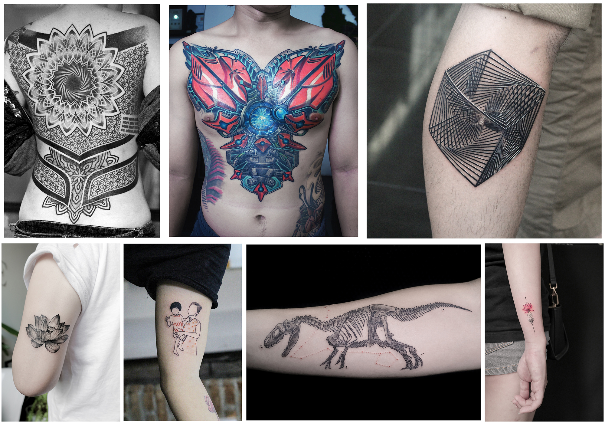 Top 5 places to get a tattoo in ho chi minh city the for Best place in the world to get a tattoo