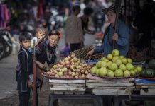 Shopping in Sapa