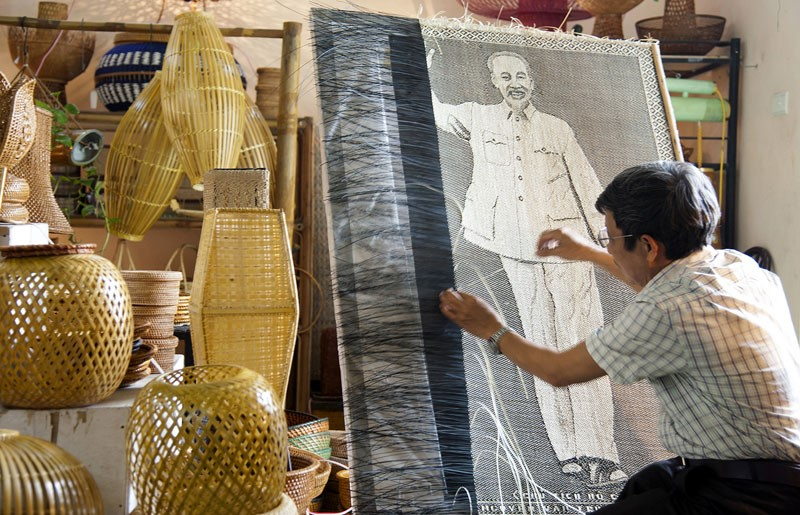 Phu Vinh rattan bamboo Traditional Handicraft Villages Around Hanoi