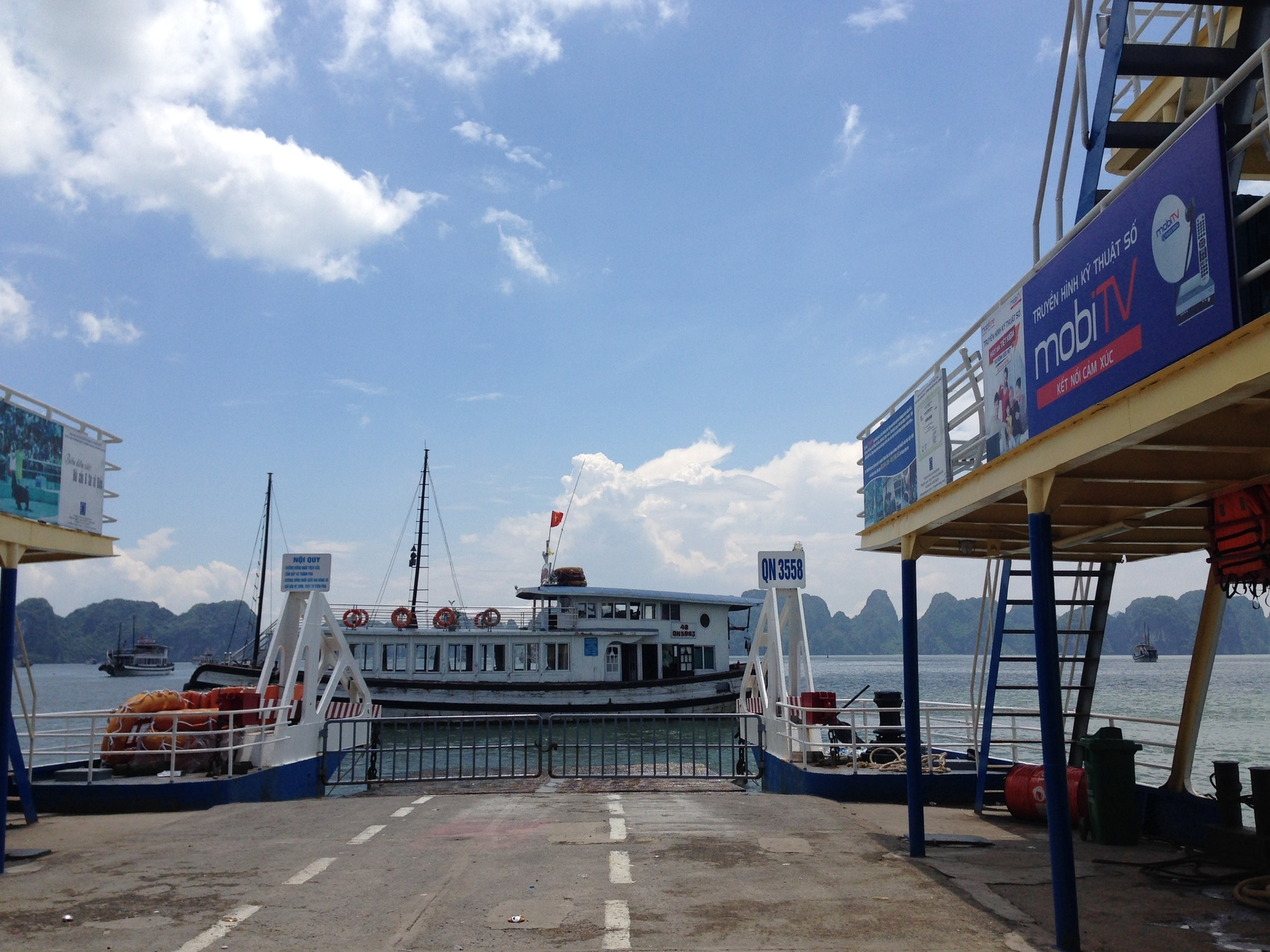 car from hanoi to ha long bay