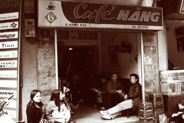 old cafes of hanoi