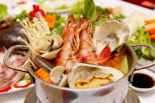 best seafood in da nang hot pot