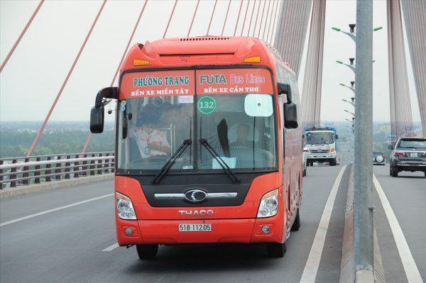 ho chi minh to mekong delta bus