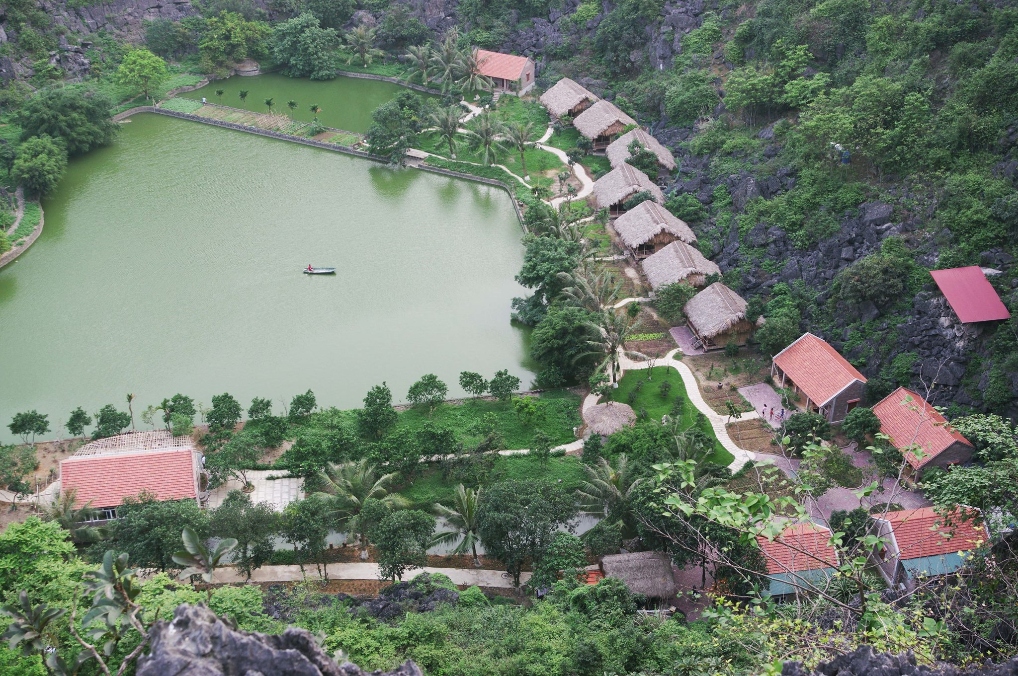 buffalo Eco Garden ninh binh eco friendly travel vietnam