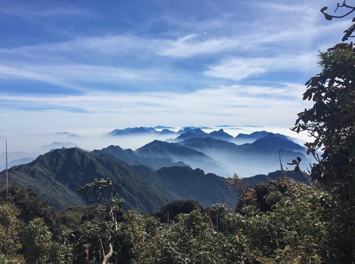 sapa vietnam hiking trekking mount fansipan