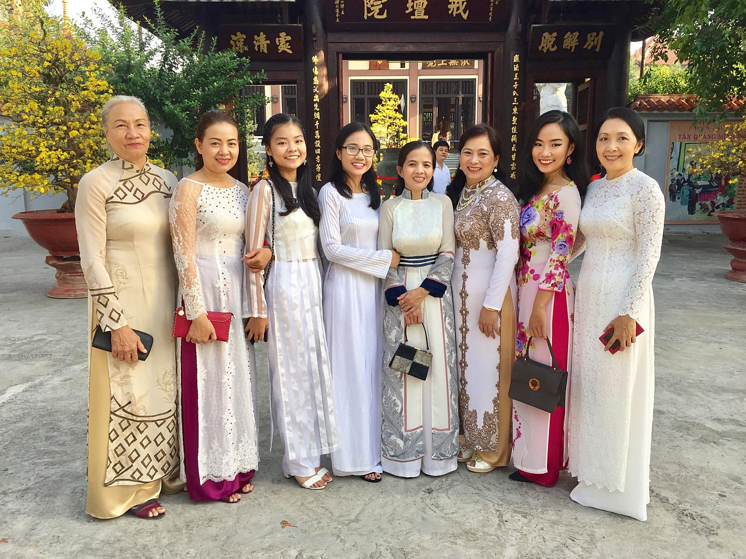 traditional vietnamese ao dai dress