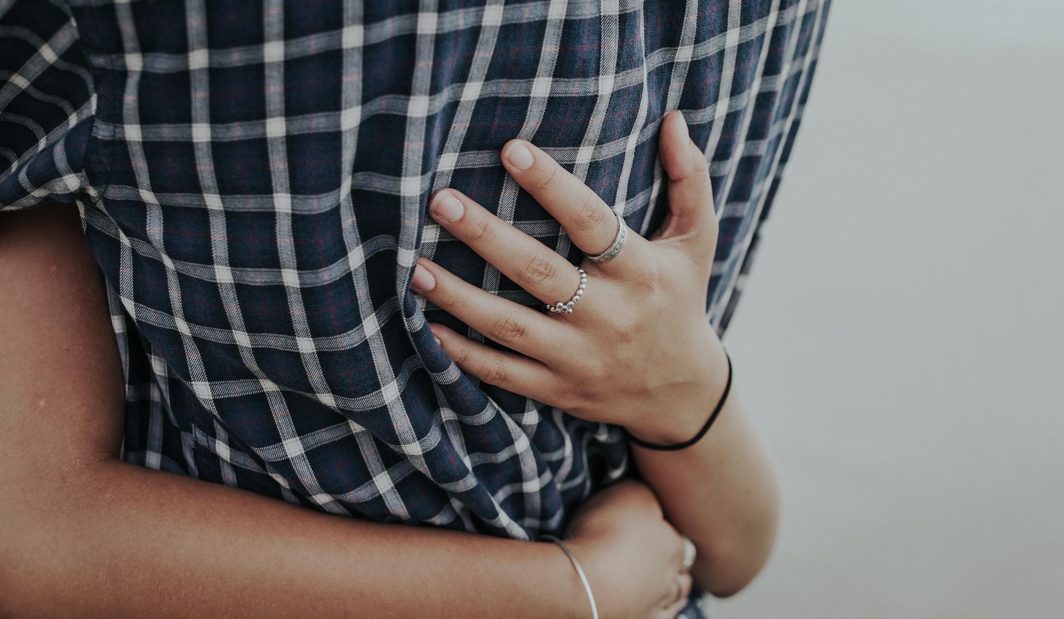 hugging-gesture