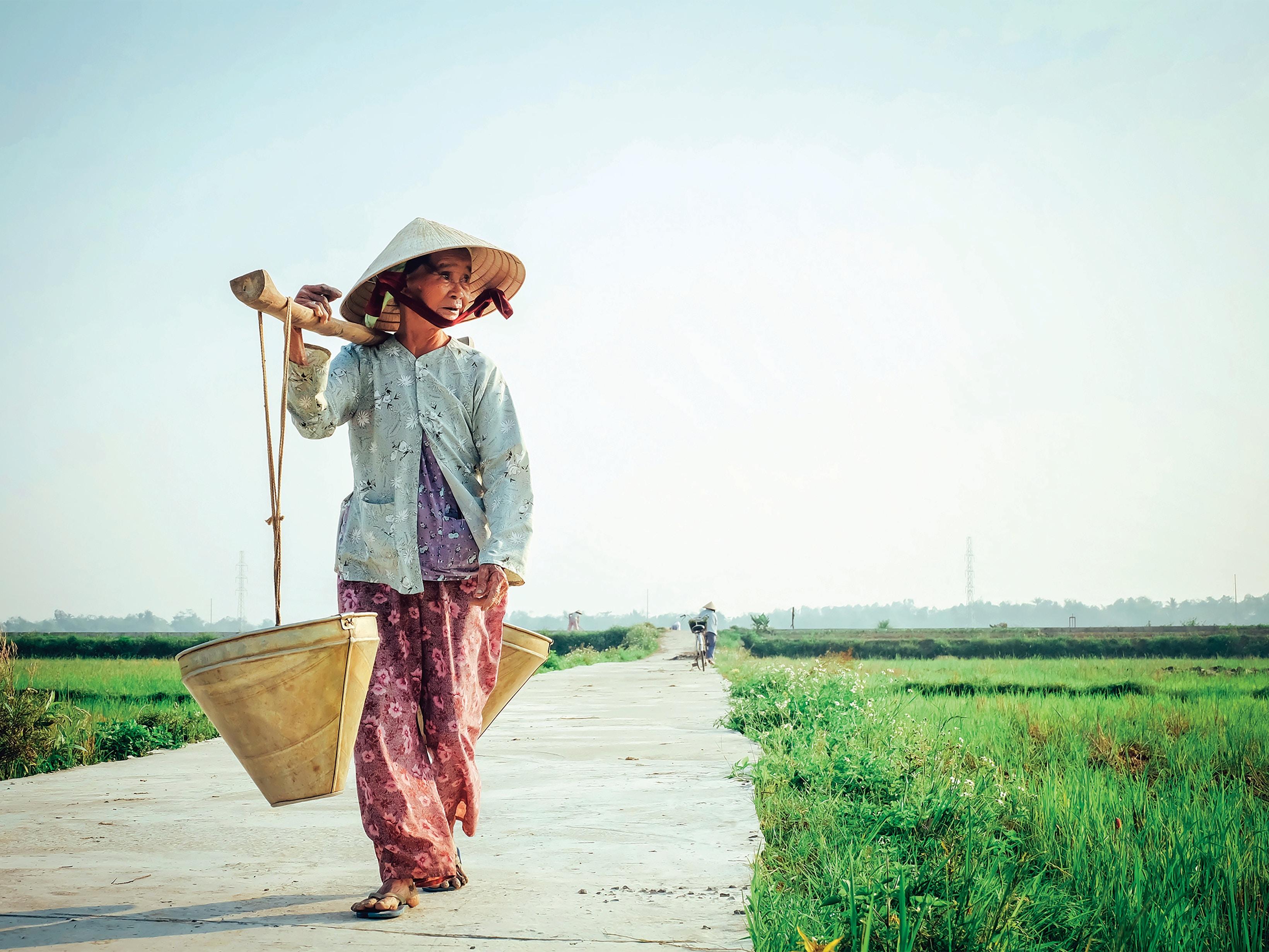 vietnamese ao ba ba old lady pyjamas