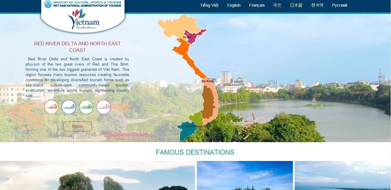 best vietnam travel websites
