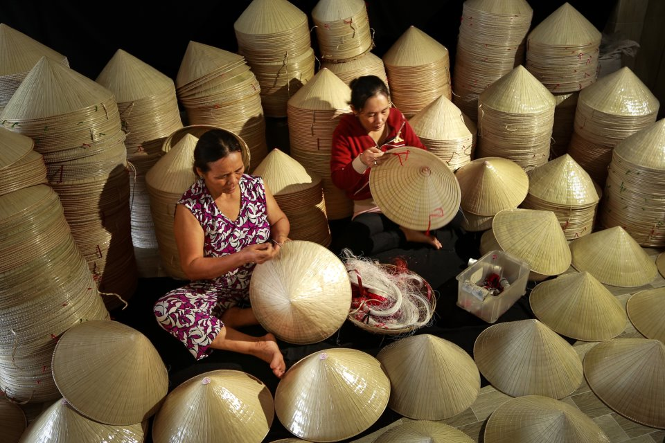 vietnamese hat name how to make a conical hat