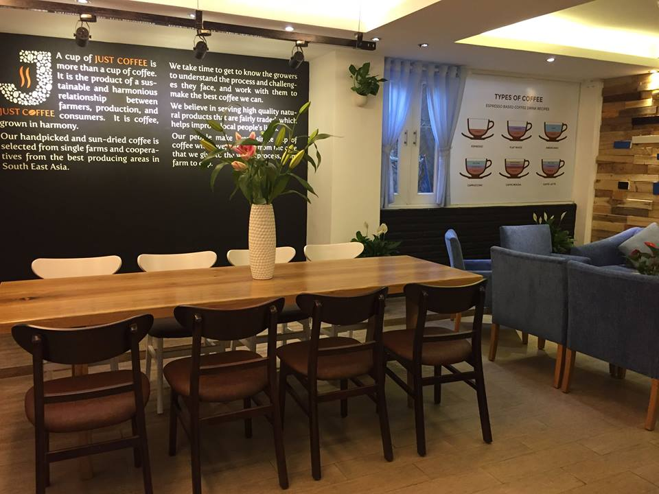 best cafes for work district 2 saigon
