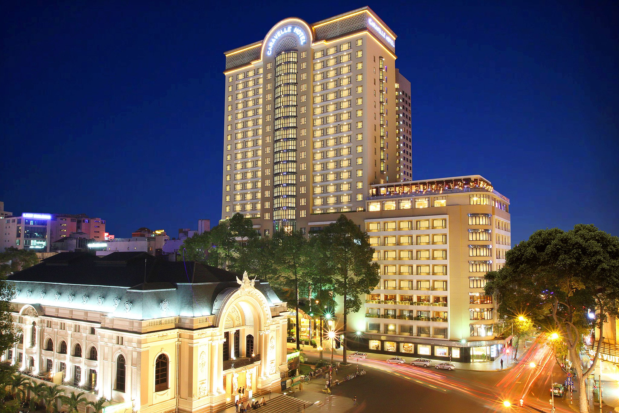 caravelle saigon 5 star hotels in ho chi minh city