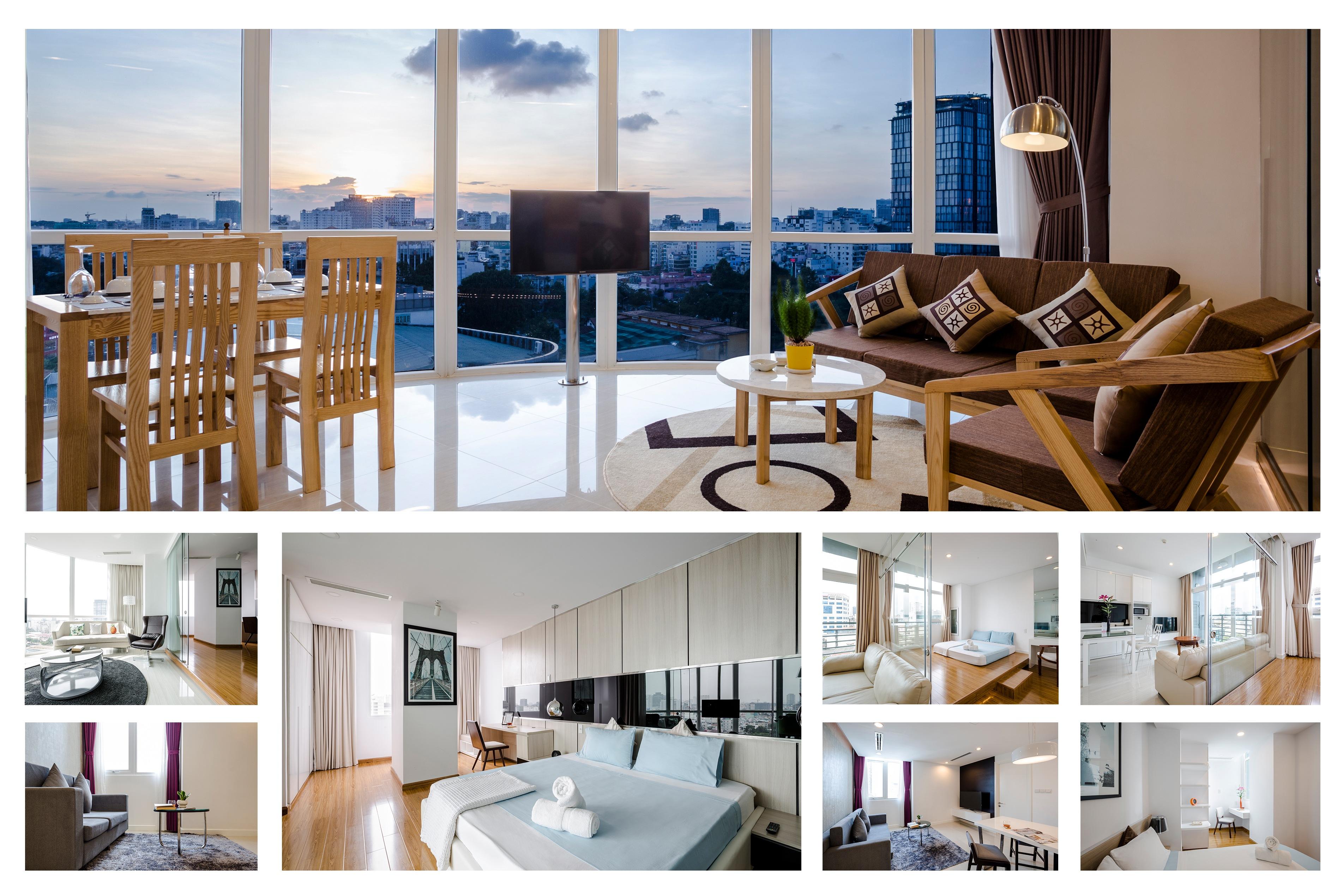 luxury living in saigon